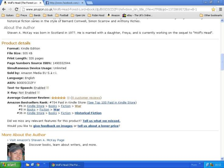 Amazon charts