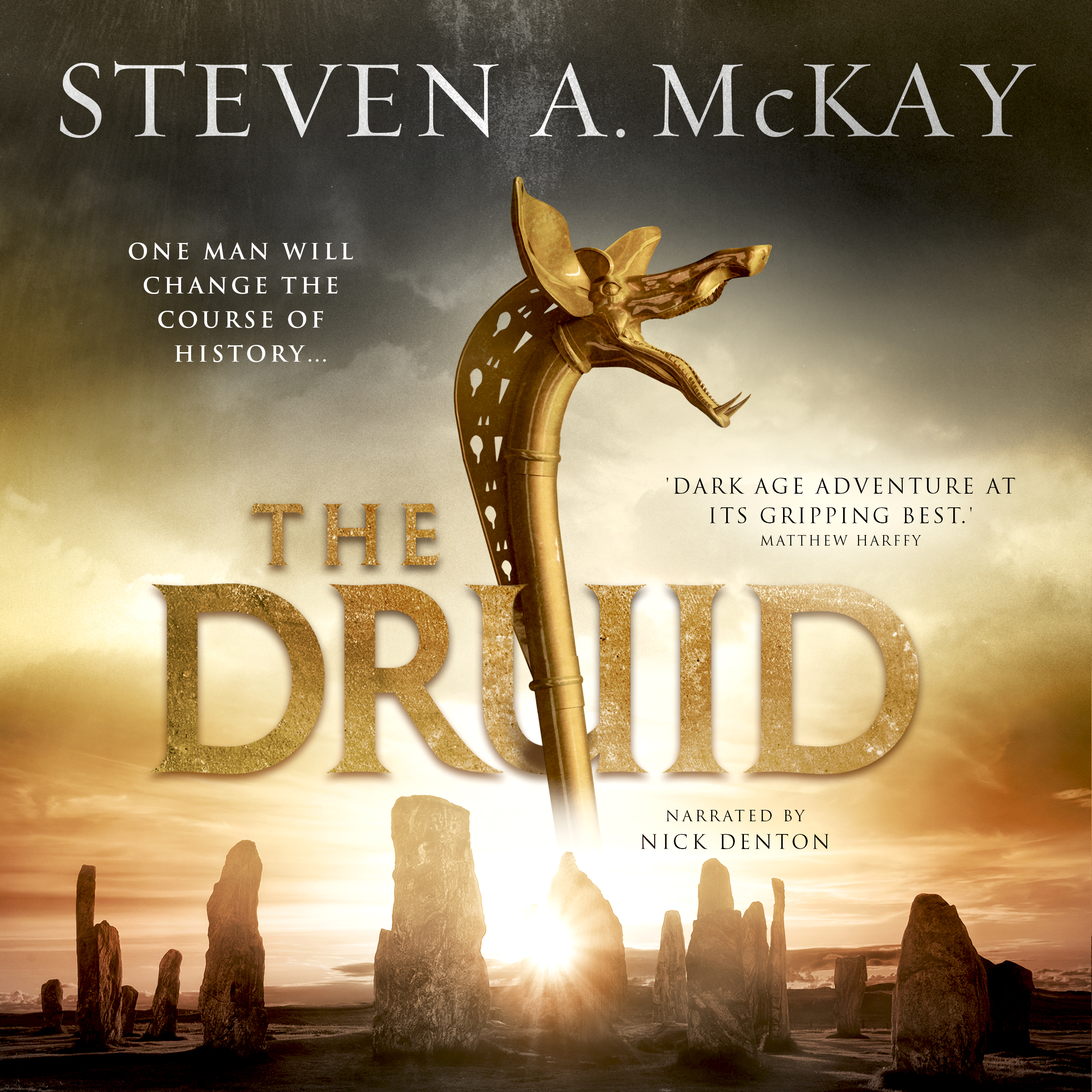 THE DRUID audiobook – cover reveal! – STEVEN A  McKAY