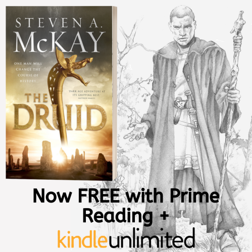 The Druid is now free to read with Prime AND Kindle